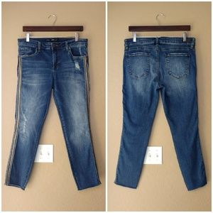 STS Blue Piper Ankle Skinny Distressed Denim Jeans